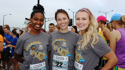 Bishara, Chyna and Sage joined more than 4,000 runners and walkers for this year's 5K.