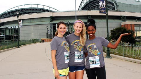 We can't think of a better backdrop for a 5K than Miller Park.