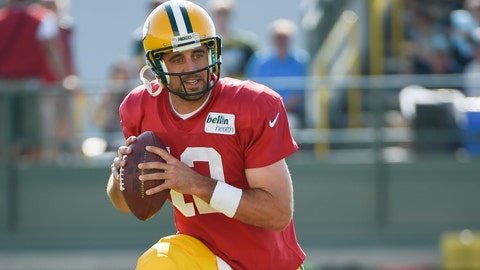 2014 Packers training camp