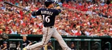 Brewers rough up Wainwright, rival Cardinals