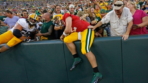Packers Family Night: 8/2/14