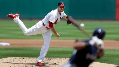Brewers at Cardinals: 8/1/14-8/3/14