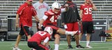 Freshman kicker Gaglianone impresses in first Badgers practice