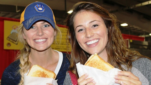 Nothing quite says Wisconsin like a grilled cheese at the State Fair.