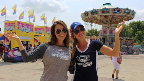 The FOX Sports Wisconsin Girls are excited to check out the 2014 Wisconsin State Fair.