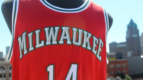 Milwaukee Bucks' new uniforms