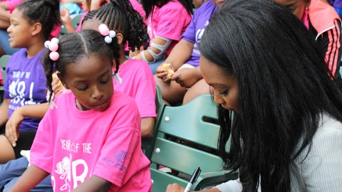 FOX Sports Wisconsin, including FOX Sports Wisconsin Girl Bishara, hosted 50 club members as part of Boys & Girls Clubs of Greater Milwaukee's Year of the G.I.RL. celebration.