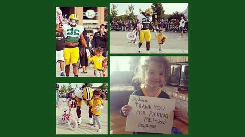 DuJuan Harris, Packers running back