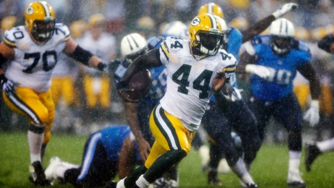 James Starks, RB, Packers (knee): Out