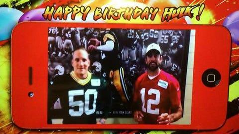 A.J. Hawk, Packers linebacker