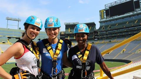 Bishara, Chyna & Sage can't wait for Packers season!