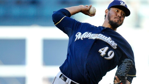 How will Yovani Gallardo transition to the A.L?