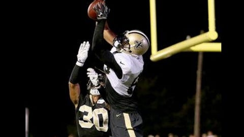 Nick Toon, former Badgers and current Saints receiver