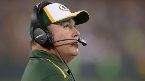 Mike McCarthy, Green Bay Packers (Last week: 4)