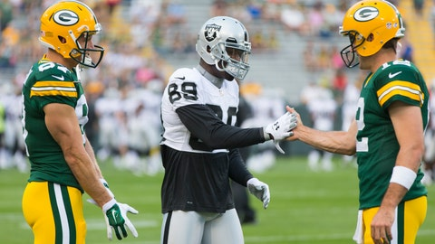 Raiders at Packers: 8/22/14