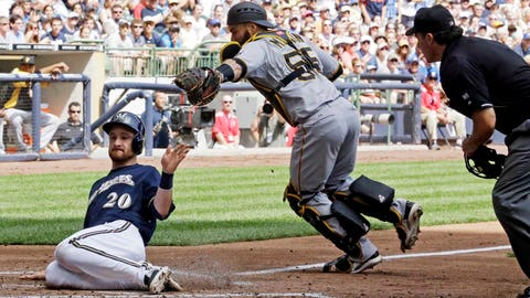 Pirates at Brewers: 8/22/14-8/24/14
