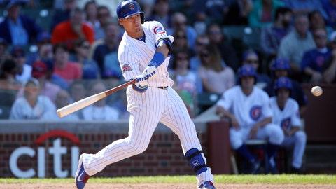 Javier Baez, 2B, Cubs