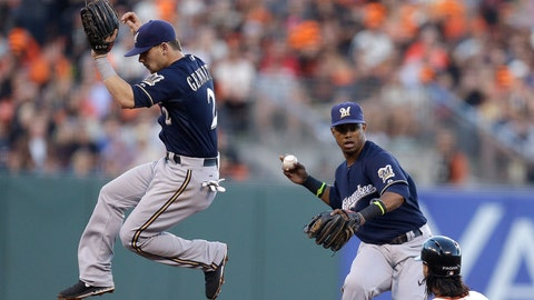 Brewers at Giants: 8/29/14-8/31/14