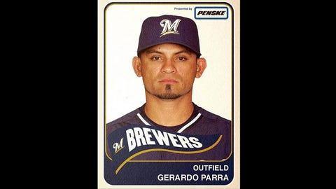 Carlos Gomez, Brewers outfielder