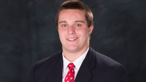 Jake Maxwell, Badgers offensive lineman