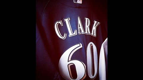 Matt Clark, Brewers first baseman