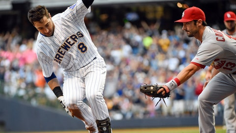 Cardinals at Brewers: 9/4/14-9/7/14
