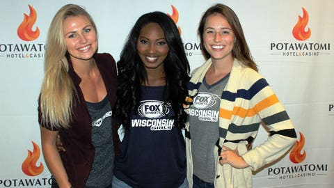 The FOX Sports Wisconsin Girls agree that Aaron Rodgers is their top draft pick. Who did you select?