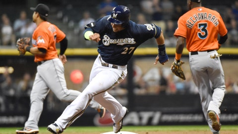 Marlins at Brewers: 9/8/14-9/11/14
