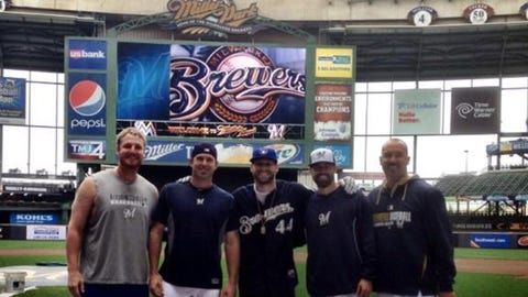 Will Smith, Brewers reliever
