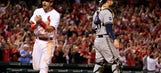 Brewers give up late lead, lose 3-2 to Cardinals in 13 innings