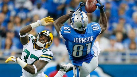 Packers at Lions: 9/21/14