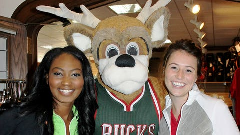 We know Bango has mad skills on the court. How do you think he'd do on the fairway?