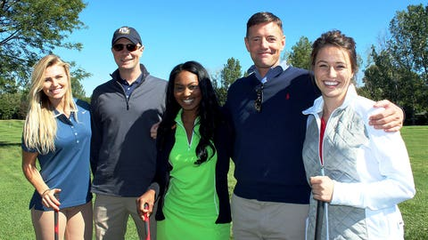 The FOX Sports Wisconsin Girls teamed up with two lucky sweepstakes winners to tackle the course at Westmoor Country Club.