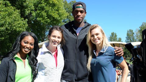 Bishara, Chyna & Sage are counting down the days until they can cheer on Khris Middleton & co.