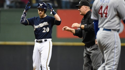 15. Milwaukee Brewers