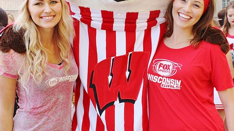 No trip to Madison is complete until you get a pic with Bucky.
