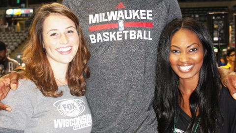 The FOX Sports Wisconsin Girls & Larry Sanders are ready for the Bucks season to start.