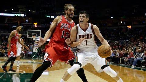 Bulls at Bucks: 10/11/14