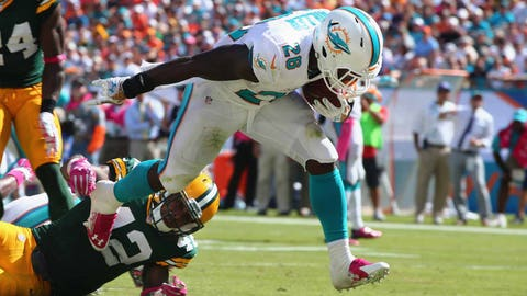 Packers at Dolphins: 10/12/14