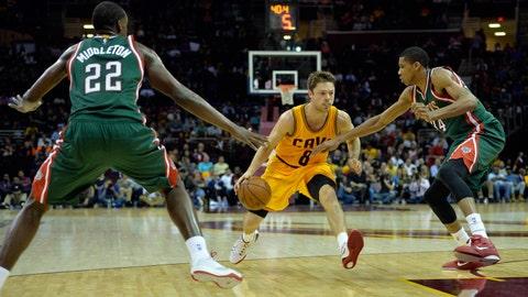 Bucks at Cavaliers: 10/14/14