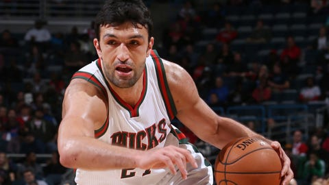 Zaza Pachulia, 31, Milwaukee Bucks