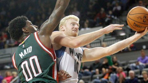 Bucks at Timberwolves (preseason): 10/17/14