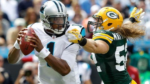 Dec. 17: Packers at Panthers (4-3)
