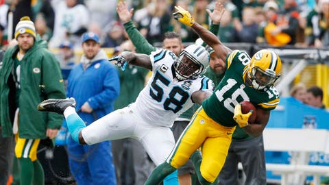 Panthers at Packers: 10/19/14
