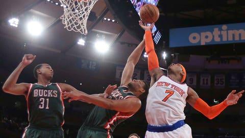 Bucks at Knicks (preseason): 10/20/14