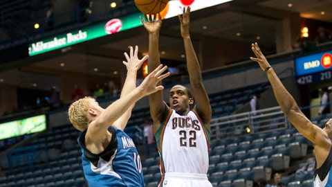 Timberwolves at Bucks: 10/22/14