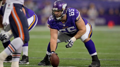 Center: John Sullivan, Vikings
