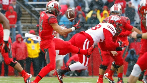Badgers at Scarlet Knights: 11/1/14