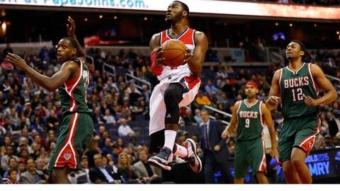 Bucks at Wizards: 11/1/14