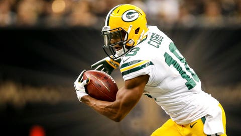 Randall Cobb, WR, Packers (hamstring): Questionable